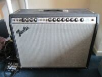 Fender Twin Reverb vintage '70s silverface