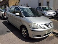 TOYOTA AVENSIS VERSO 2.0 AUTOMATIC 2001 7 SEATER LOW MILEAGE 1 YEAR MOT NO ADVISORY CHAIN DRIVEN CAR