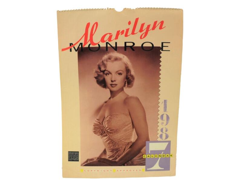Vintage 1987 Marilyn Monroe Calendar