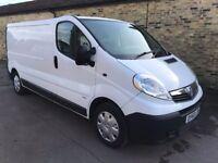 Vauxhall vivaro 2900 lwb 115 2.0cdti 6 speed 60 reg 136000 miles