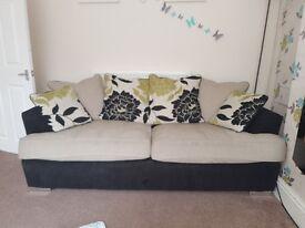 monique 3seater sofa