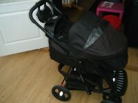 Mothercare Trenton 3 in 1 Pushchair System