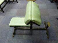 Preacher / Curl Weight Bench - Gym Equipment