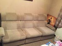 Very versatile 3 seater sofa