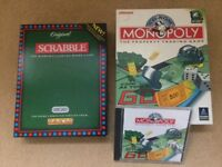 Scrabble and monopoly computer games