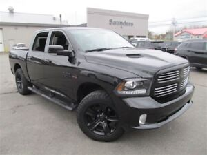 2017 Ram 1500 Sport Crew - Leather/Nav