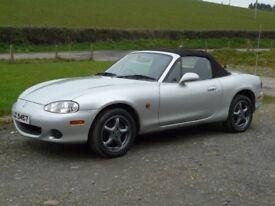 2004 MK2.5 Mazda MX5 1.6 12 months MOT