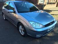 2004 FORD FOCUS ZETEC 1.6 WITH 12 MOT AND ONLY 58000 MILES