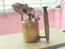 Max Sievert 'Sweden' genuine original blow torch..QUIRKY GIFT ORNAMENT LAMP OR
