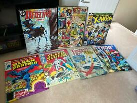 Marvel and DC comic canvases