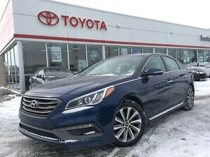 2015 Hyundai Sonata Sport, Panoramic Sunroof, Carproof Clean, Ba