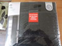 BRAND NEW BLACK CURTAINS (SIZES IN THE PICTURES)
