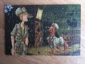 Scooby doo jigsaw puzzles set of 3