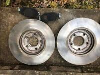 Ford Mondeo Mk3 brake discs and pads (less than 100 Miles old)