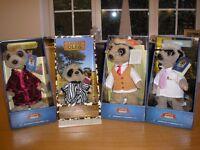 4 Meerkat toys for sale