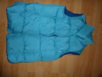 Lands End Girls Quilted Gilet - Age 10-11