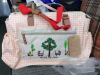 "Pink Lining ""twice as nice"" changing bag. Item is BNWT"