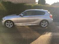 BMW 1 SERIES 2.0 118D M SPORT 3d Full BMW Service History