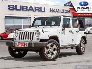 2017 Jeep Wrangler Unlimited Sahara NO ACCIDENTS | HARD TOP &...