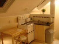 £65pw Furnished BEDSIT (Double Room + Private kitchen) Includes Bills