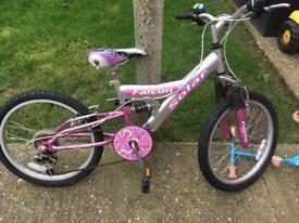 Girls 20in bike