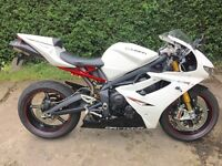 Triumph Daytona 675R, Showroom Condition, 2011 Model First Registered 2013