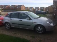 Silver Ford Focus 2002
