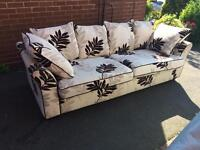 Dfs 3 seater sofa good solid condition