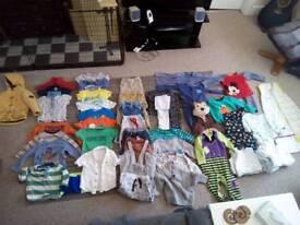 Huge baby boy clothes bundle
