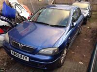 (BREAKING) 2005 Vauxhall Astra 1.6 16v