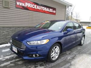 2015 Ford Fusion HEATED LEATHER SEATS - BACK-UP CAMERA