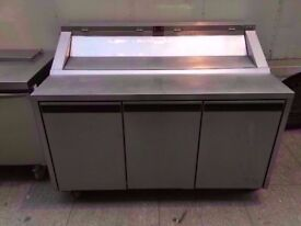 TOPPING FASTFOOD BUFFET SALAD BAR COMMERCIAL MACHINE CATERING TAKEAWAY DINER SHOP CAFE CANTEEN