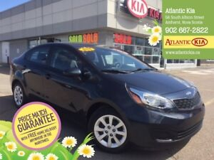 2015 Kia Rio LX+ Low, Low KMs, One Owner, Heated Seats, Bluetoot