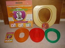 LITTER KWITTER-TRAIN YOUR CAT TO USE THE TOILET