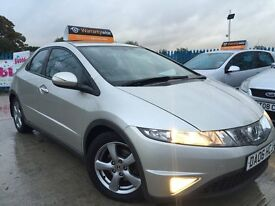 2006 06 Honda Civic 1.8 I Vtec SE - Genuine Low 85,000 Miles - Full Service History - FREE WARRANTY!