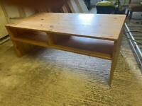 Pine coffee table / kids room table