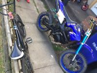 Ghost 200 pitbike big frame big wheel
