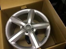 "4 x 20"" Audi genuine alloy wheels"