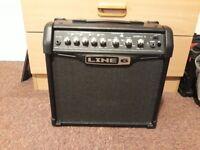 Line 6 Spider IV 15 watt guitar amp