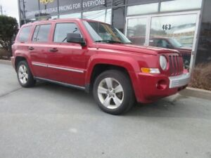 2008 Jeep Patriot LIMITED 4X4 W/ LEATHER HEATED SEATS ROOF RACK