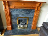 Fire Surround and Hearth and Gas Fire