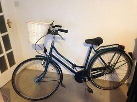 beautiful green dutch lady bike £90