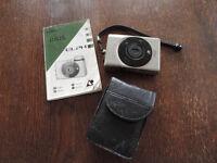 A Vintage Canon IXUS ELPH -1990's APS Retro Compact Point & Shoot Film Camera