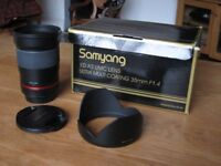 Samyang 35mm f1.4 ED AS UMC Lens for Canon