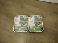 two disposable barbecues BBQ from wilko