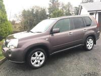 NISSAN X-TRAIL DCI AVENTURA 2008 ***ONLY 95000 MILES*** 12 MONTHS MOT*** FULL SERVICE HISTORY***