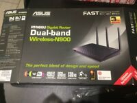 Asus Dual-band wireless N-900 never used