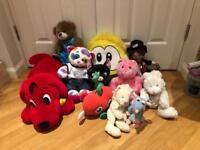 Kids soft toy bundle