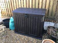 Outdoor Polypropylene Waterproof Garden Storage Box