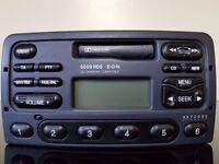 Ford 5000 RDS Radio / Cassette / CD changer compatible with Code
